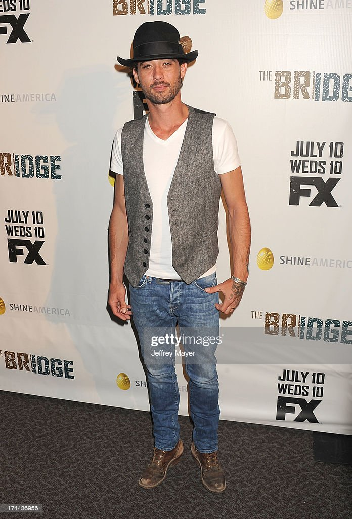 "Series Premiere Of FX's ""The Bridge"""