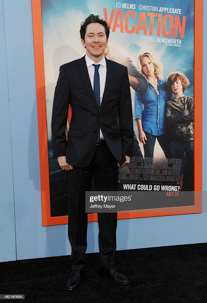 Actor Ryan Cartwright arrives at the Premiere Of Warner Bros. 'Vacation' at Regency Village Theatre on July 27, 2015 in Westwood, California.