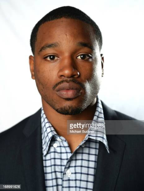 Actor Ryan Coogler poses for a portrait at the Variety Studio at the 66th Annual Cannes Film Festival at Chivas House on May 18 2013 in Cannes France