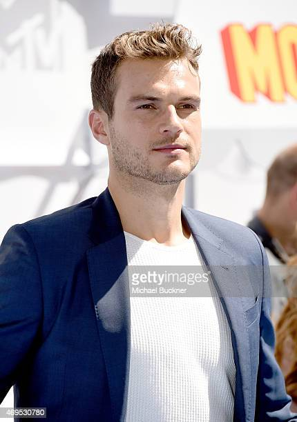 Actor Ryan Cooper attends The 2015 MTV Movie Awards at Nokia Theatre L.A. Live on April 12, 2015 in Los Angeles, California.