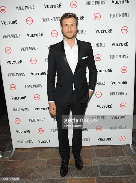 Actor Ryan Cooper attends The NYMag Vulture TNT Celebrate the Premiere of 'Public Morals' on August 12 2015 in New York City