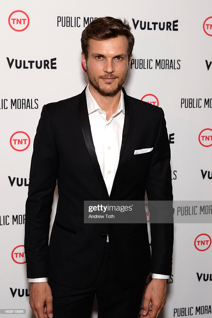 Actor Ryan Cooper attends the 'Public Morals' New York series screening at Tribeca Grand Screening Room on August 12, 2015 in New York City.