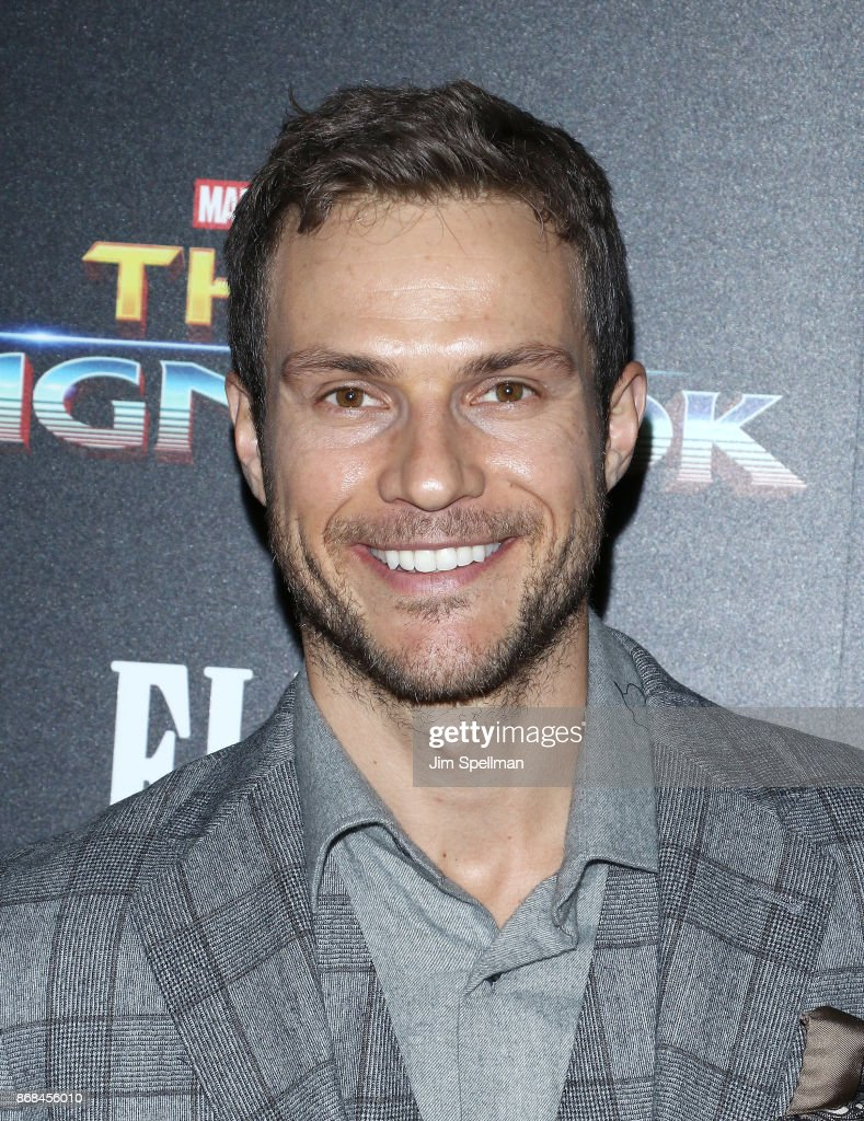 Actor Ryan Cooper attends the screening of Marvel Studios' 'Thor: Ragnarok' hosted by The Cinema Society with FIJI Water, Men's Journal and Synchrony at the Whitby Hotel on October 30, 2017 in New York City.