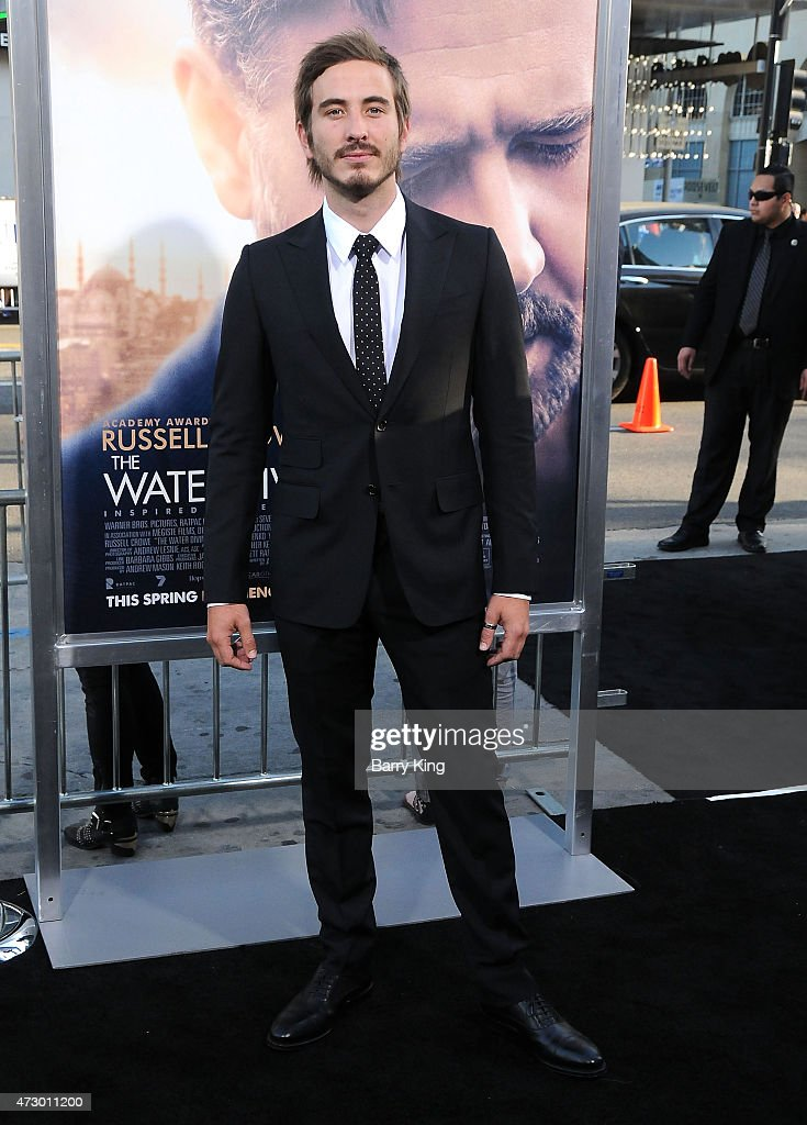 Actor Ryan Corr attends the premiere of 'The Water Diviner' at TCL Chinese Theatre IMAX on April 16, 2015 in Hollywood, California.