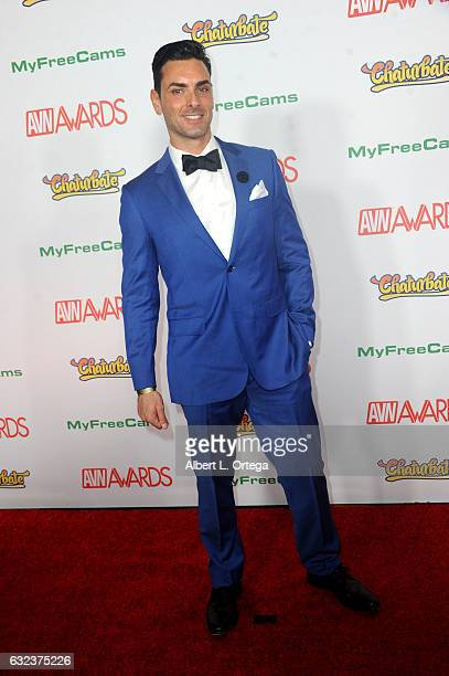 Actor Ryan Driller Arrives At The 2017 Adult Video News Awards Held At The Hard Rock