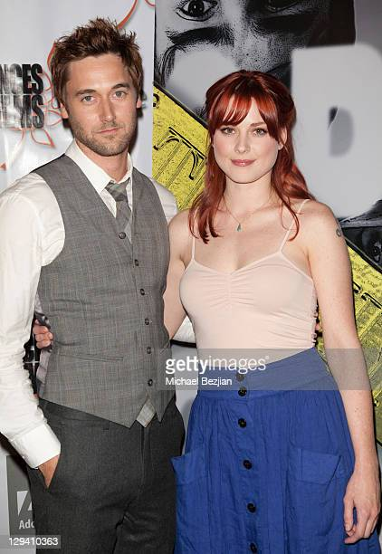 """Actor Ryan Eggold and actress Alex Breckenridge attend """"Trophy Kids"""" World Film Festival Premiere at Laemmle Sunset 5 Theatre on June 5, 2011 in West..."""