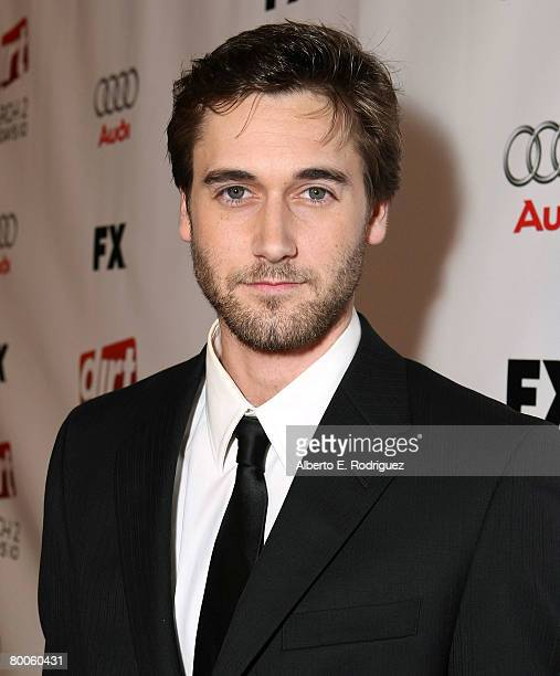 Actor Ryan Eggold arrives at the 2nd season premiere screening of FX Network's Dirt held at the Arclight theaters on February 28 2008 in Hollywood...