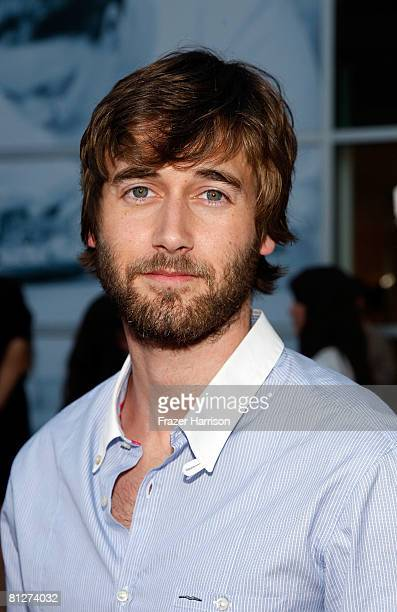 Actor Ryan Eggold arrives at the Gen Art Screening Of The Promotion held at the Arclight Cinemas on May 28 2008 in Los Angeles California