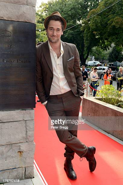 "Actor Ryan Eggold arrives at the ""Lucky Them"" premiere during the 2013 Toronto International Film Festival at Isabel Bader Theatre on September 6,..."