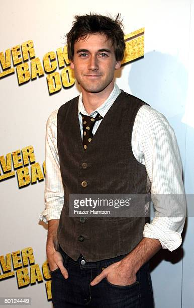 Actor Ryan Eggold arrives at the premiere Of Summit Entertainment's Never Back Down at the Cinerama Dome March 4 2008 in Hollywood California