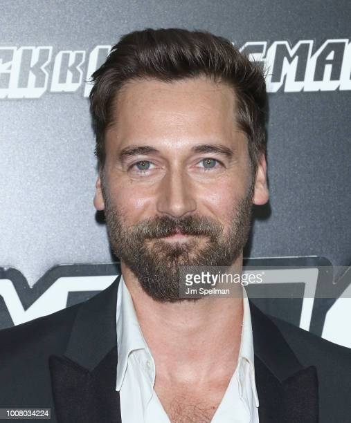 Actor Ryan Eggold attends the 'BlacKkKlansman' New York premiere at Brooklyn Academy of Music on July 30 2018 in New York City