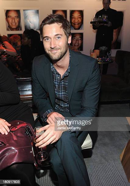 Actor Ryan Eggold attends the Esquire 80th anniversary and Esquire Network launch celebration at Highline Stages on September 17, 2013 in New York...