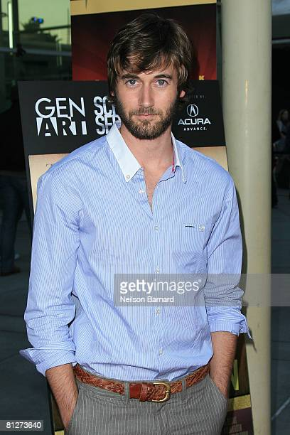 Actor Ryan Eggold attends the Gen Art screening of The Promotion at the Arclight Cinemas on May 28 2008 in Hollywood California