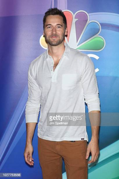 Actor Ryan Eggold attends the NBC Fall New York Junket at Four Seasons Hotel New York on September 6, 2018 in New York City.