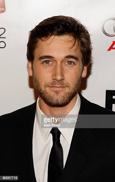 Actor Ryan Eggold attends the premiere of FX Networks Dirt at the Arclight February 28 2008 in Hollywood California