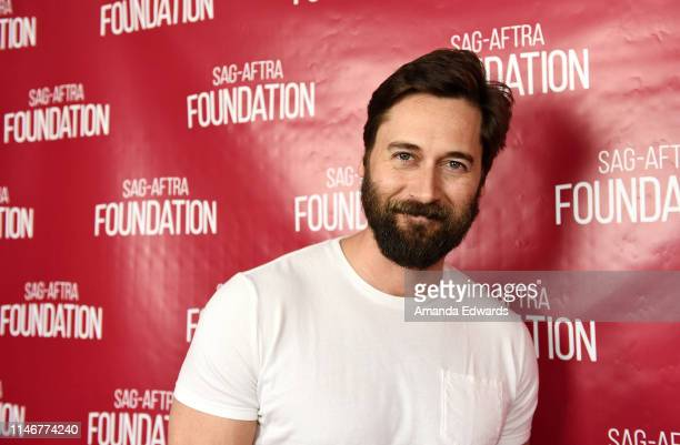 "Actor Ryan Eggold attends the SAG-AFTRA Foundation Conversations with ""New Amsterdam"" event at the SAG-AFTRA Foundation Screening Room on May 03,..."