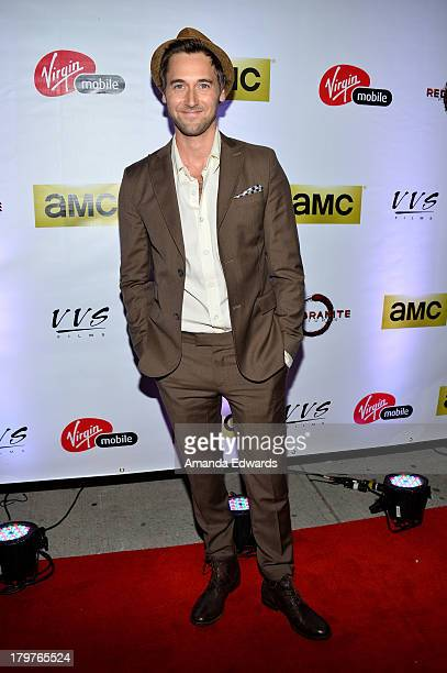 Actor Ryan Eggold attends the Virgin Mobile Arts Cinema Centre's 'Lucky Them' After Party during the 2013 Toronto International Film Festival at...