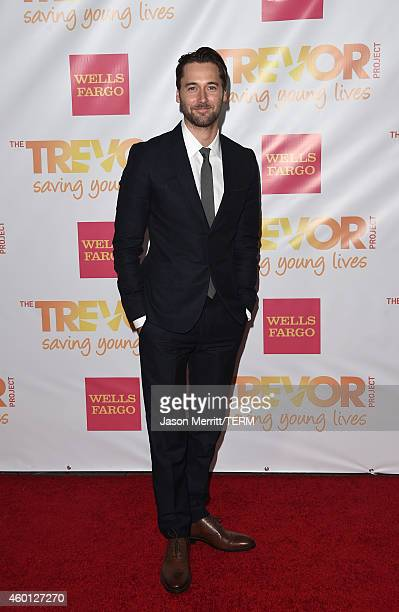 Actor Ryan Eggold attends 'TrevorLIVE LA' Honoring Robert Greenblatt Yahoo and Skylar Kergil for The Trevor Project at Hollywood Palladium on...