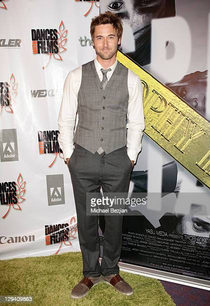 """Actor Ryan Eggold attends """"Trophy Kids"""" World Film Festival Premiere at Laemmle Sunset 5 Theatre on June 5, 2011 in West Hollywood, California."""