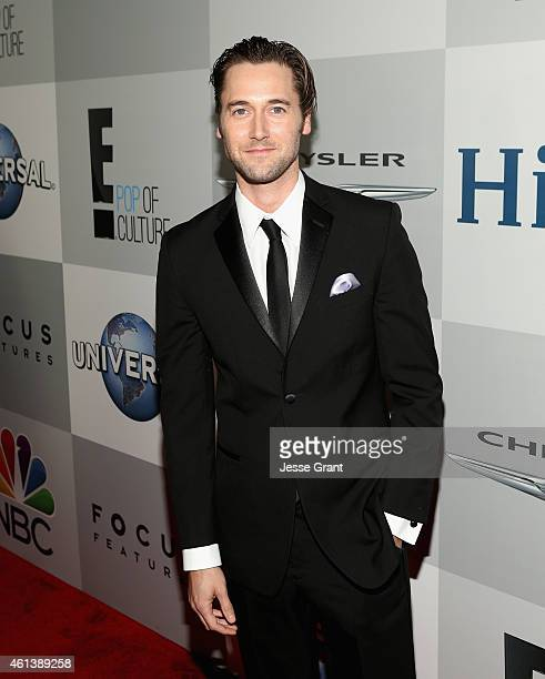 Actor Ryan Eggold attends Universal NBC Focus Features and E Entertainment 2015 Golden Globe Awards After Party sponsored by Chrysler and Hilton at...
