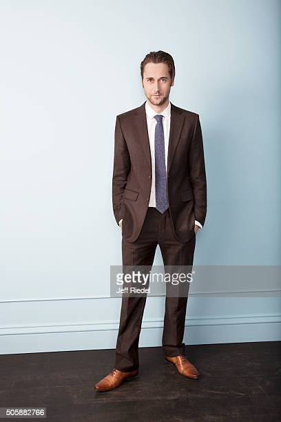 Actor Ryan Eggold is photographed for TV Guide Magazine on January 16 2015 in Pasadena California