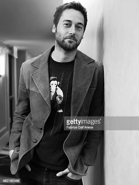 Actor Ryan Eggold is photographed for Vanity Fair - Italy on April 23, 2014 in New York City.