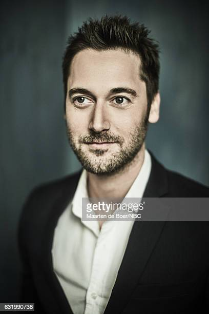 Actor Ryan Eggold of 'The Blacklist Redemption' poses for a portrait in the NBCUniversal Press Tour portrait studio at The Langham Huntington...