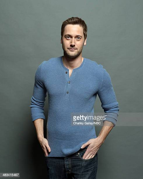 Actor Ryan Eggold poses for a portrait during the 2014 NBCUniversal Summer Press Day at The Langham Huntington on April 8 2014 in Pasadena California...