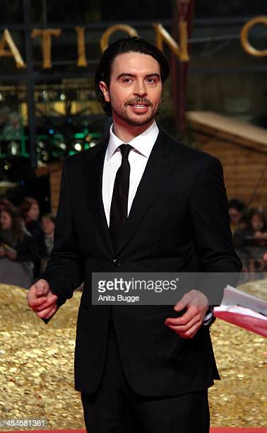 """Actor Ryan Gage attends the """"The Hobbit: The Desolation of Smaug"""" European Premiere at Cinestar on December 9, 2013 in Berlin, Germany."""