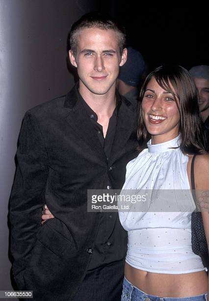 Actor Ryan Gosling and actress Summer Phoenix attend the Screening of the Showtime Original Movie 'The Believer' on September 6 2001 at DGA Theatre...