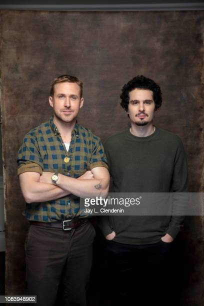Actor Ryan Gosling and director Damien Chazelle are photographed for Los Angeles Times on January 10 2019 in West Hollywood California PUBLISHED...