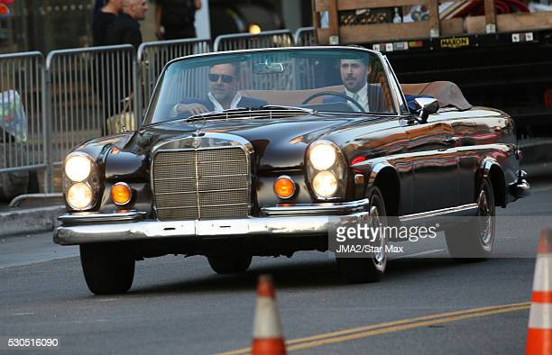 Actor Ryan Gosling and Russell Crowe are seen on May 10 2016 in Los Angeles CA