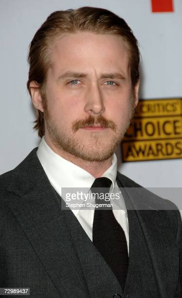 Actor Ryan Gosling arrives at the 12th Annual Critics' Choice Awards held at the Santa Monica Civic Auditorium on January 12, 2007 in Santa Monica,...