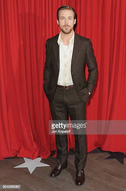 Actor Ryan Gosling arrives at the 16th Annual AFI Awards on January 8 2016 in Los Angeles California