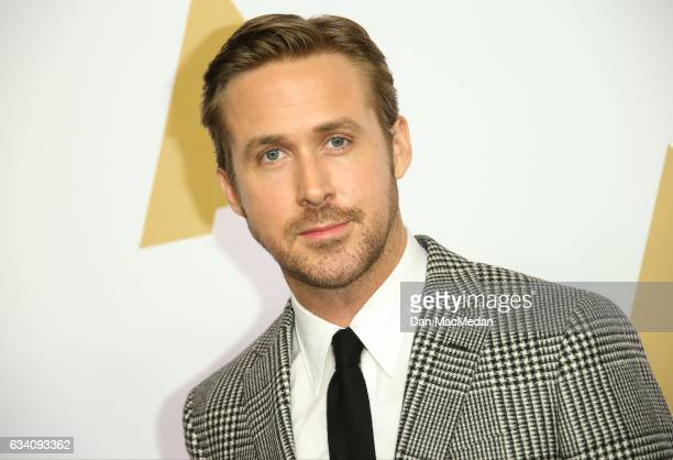 Actor Ryan Gosling arrives at the 89th Annual Academy Awards Nominee Luncheon at The Beverly Hilton Hotel on February 6 2017 in Beverly Hills...