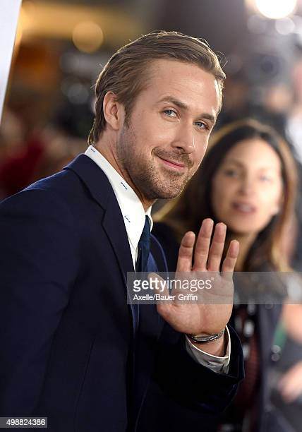 Actor Ryan Gosling arrives at the AFI FEST 2015 Presented By Audi Closing Night Gala Premiere of Paramount Pictures' 'The Big Short' at TCL Chinese 6...