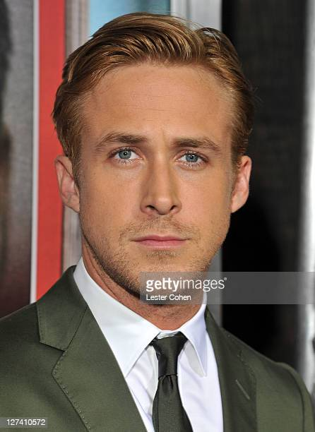 """Actor Ryan Gosling arrives at the """"Ides Of March"""" Los Angeles Premiere held at AMPAS Samuel Goldwyn Theater on September 27, 2011 in Beverly Hills,..."""