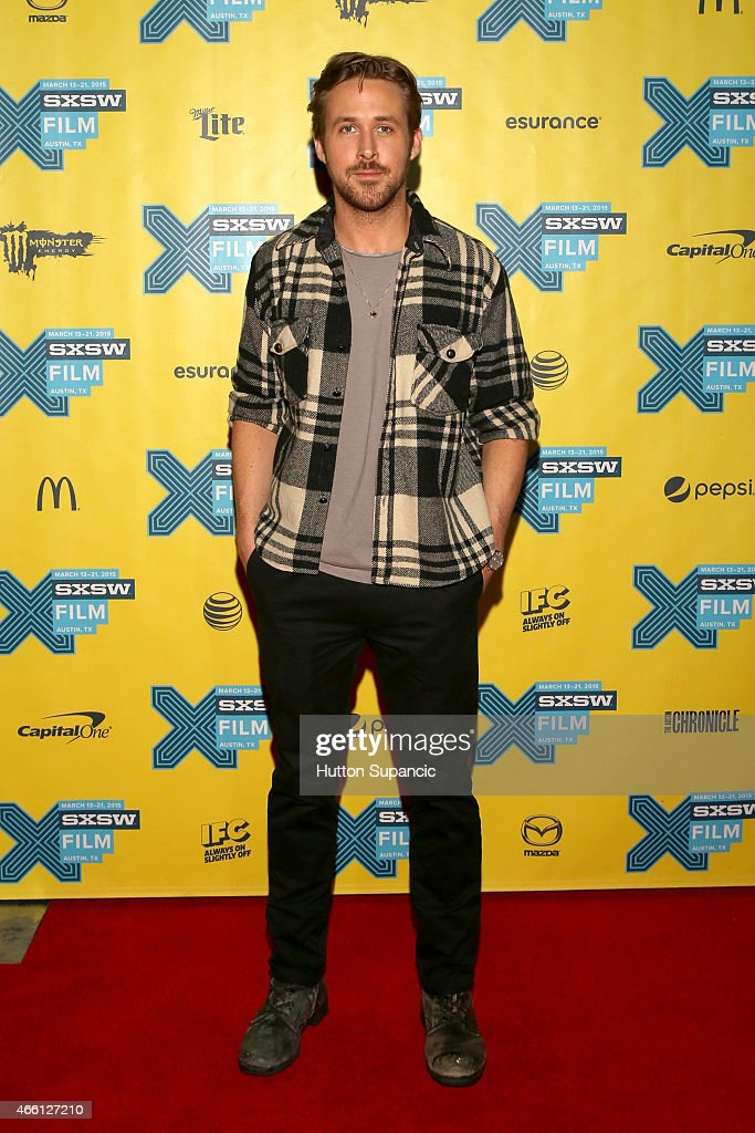 Actor Ryan Gosling attends 'A Conversation with Ryan Gosling' during the 2015 SXSW Music, Film + Interactive Festival at Austin Convention Center on March 13, 2015 in Austin, Texas.