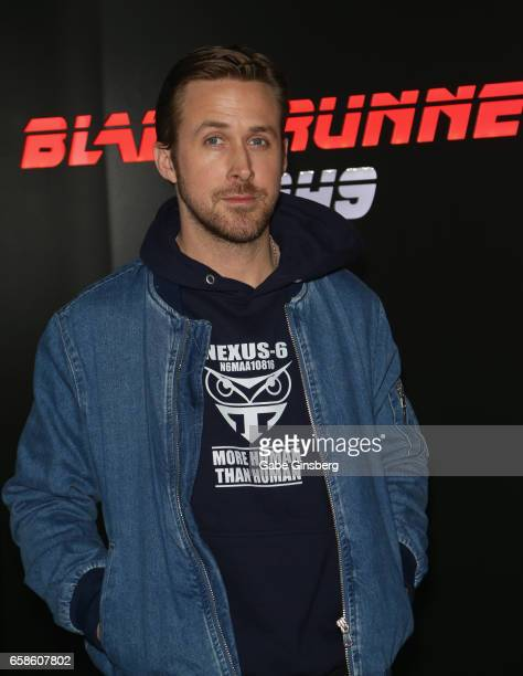 """Actor Ryan Gosling attends a photo call for Alcon Entertainment's """"Blade Runner 2049"""" in association Columbia Pictures, domestic distribution by..."""