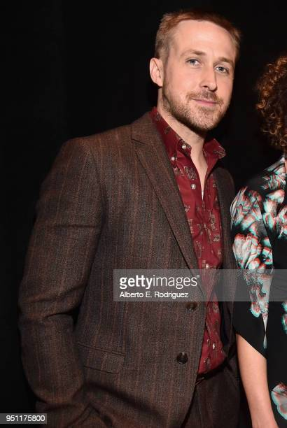 Actor Ryan Gosling attends CinemaCon 2018 Universal Pictures Invites You to a Special Presentation Featuring Footage from its Upcoming Slate at The...