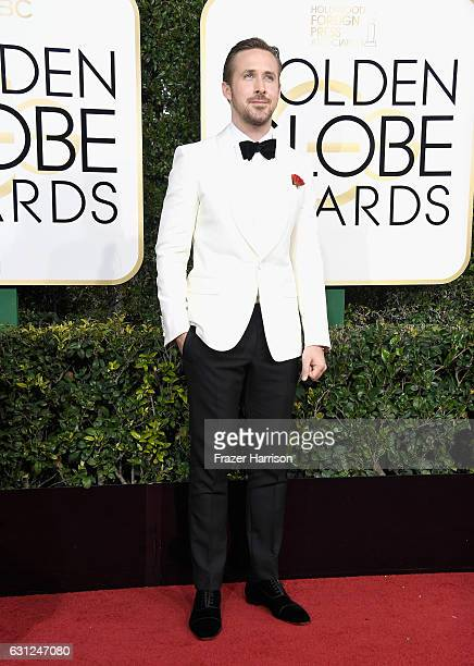 Actor Ryan Gosling attends the 74th Annual Golden Globe Awards at The Beverly Hilton Hotel on January 8 2017 in Beverly Hills California