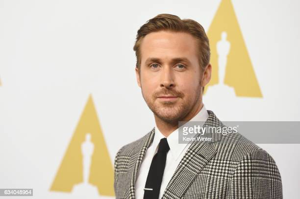 Actor Ryan Gosling attends the 89th Annual Academy Awards Nominee Luncheon at The Beverly Hilton Hotel on February 6 2017 in Beverly Hills California