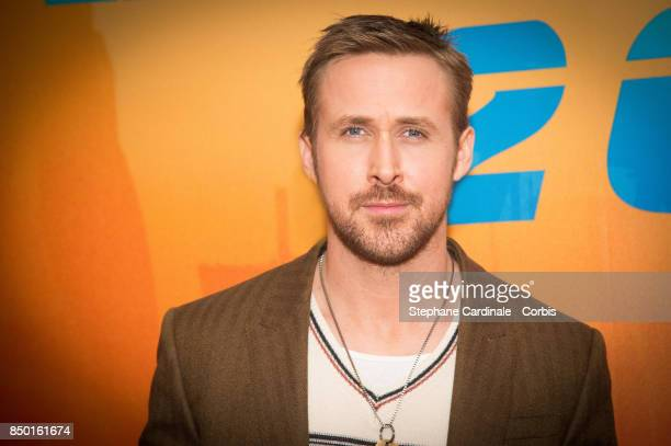 Actor Ryan Gosling attends the Blade Runner 2049 Photocall at Hotel Le Bristol on September 20 2017 in Paris France