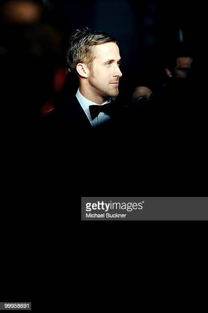 """Actor Ryan Gosling attends the """"Blue Valentine"""" Premiere at the Palais des Festivals during the 63rd Annual Cannes Film Festival on May 18, 2010 in..."""