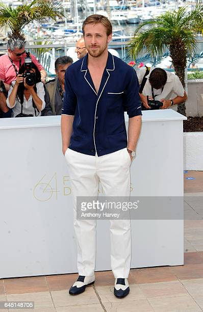 Actor Ryan Gosling attends the 'Drive' photocall at the Palais des Festivals during the 64th Cannes Film Festival on May 20 2011 in Cannes France