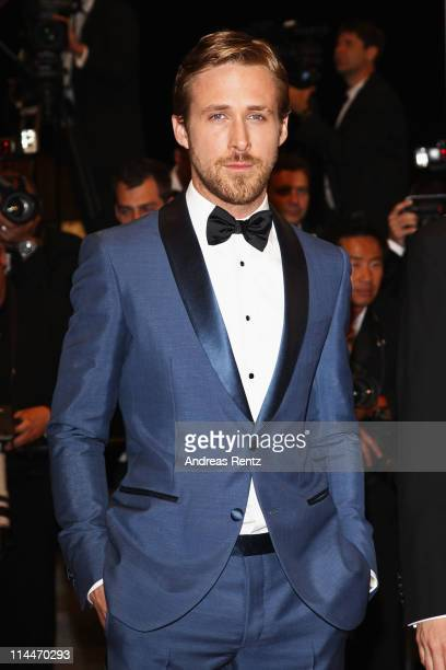 Actor Ryan Gosling attends the 'Drive' premiere during the 64th Annual Cannes Film Festival at Palais des Festivals on May 20 2011 in Cannes France