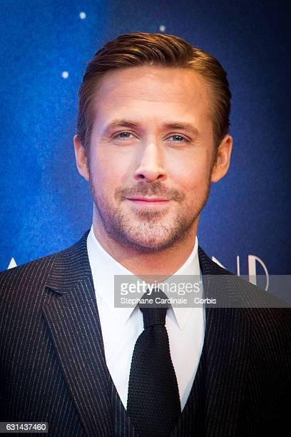 Actor Ryan Gosling attends the 'La La Land' Paris Premiere at Cinema UGC Normandie on January 10 2017 in Paris France