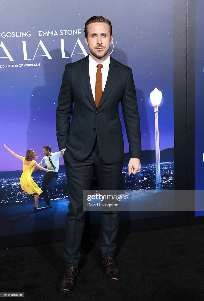 Actor Ryan Gosling attends the premiere of Lionsgate's 'La La Land' at Mann Village Theatre on December 6, 2016 in Westwood, California.