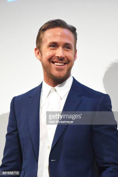 Actor Ryan Gosling attends the 'Song To Song' premiere 2017 SXSW Conference and Festivals at Paramount Theatre on March 10 2017 in Austin Texas