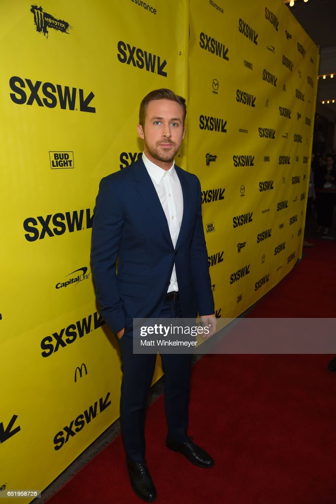 Actor Ryan Gosling attends the 'Song To Song' premiere 2017 SXSW Conference and Festivals at Paramount Theatre on March 10, 2017 in Austin, Texas.